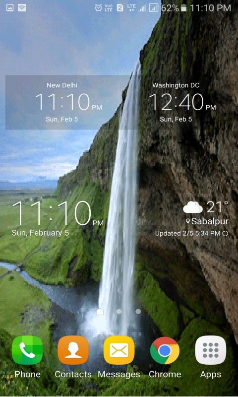 Waterfall Pond Live Wallpaper