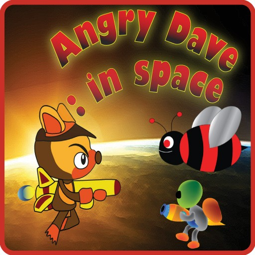 Angry Dave : in space