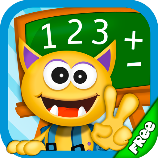 Buddy School: Math learning games for kids
