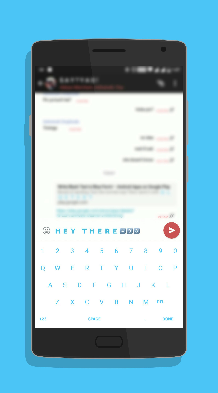Emoji Letter Keyboard