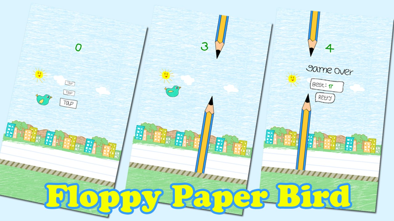 Floppy Paper Bird