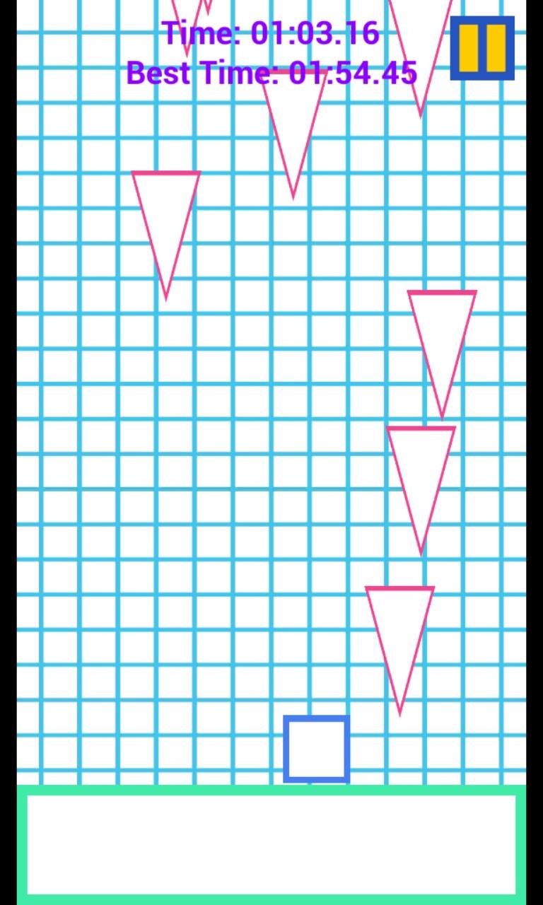 Geo-Clash: Falling Triangles