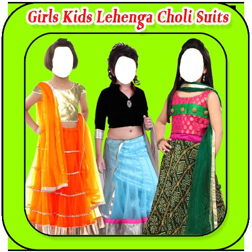 Girls Kids Lehenga Choli Suits