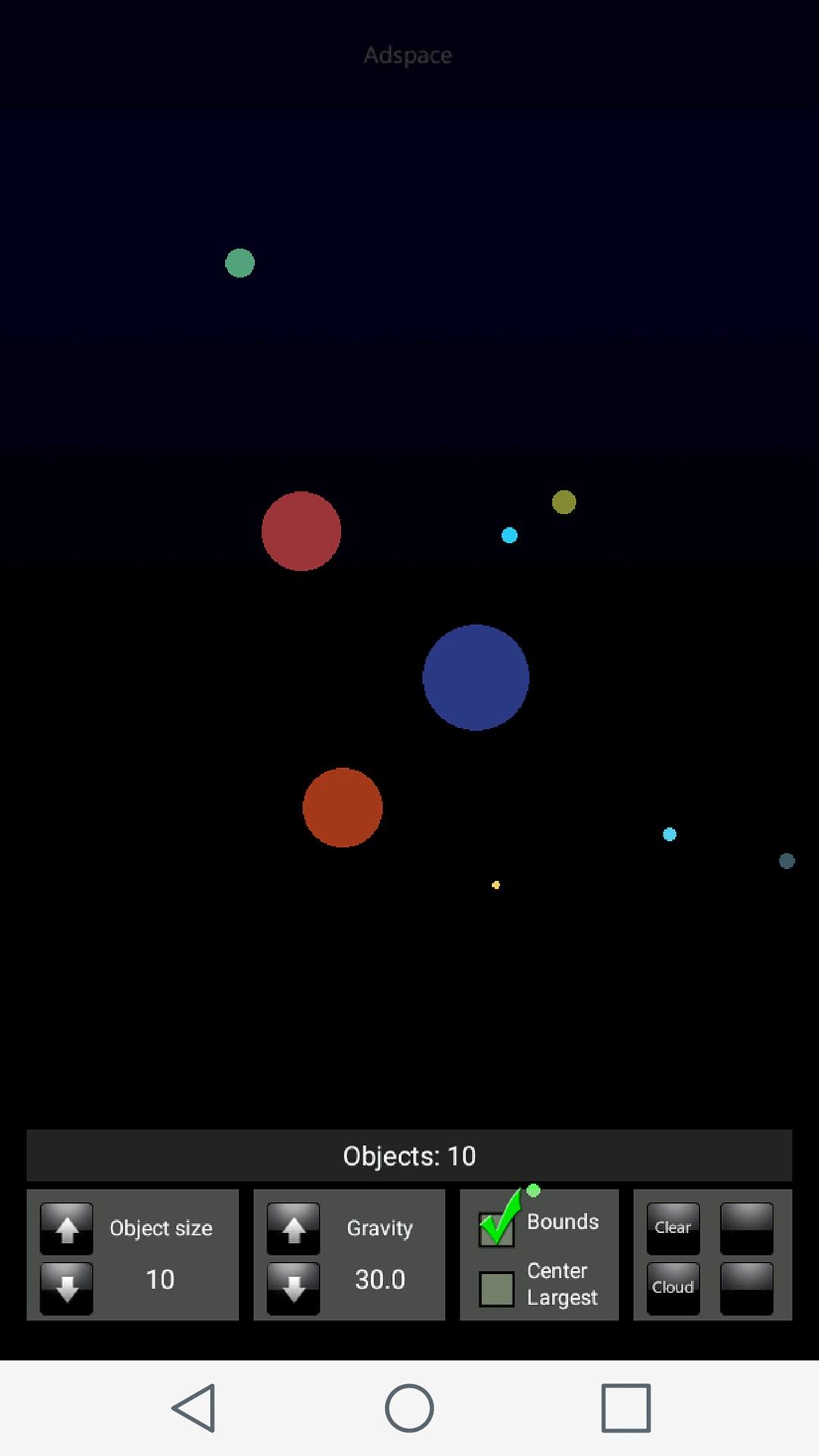Gravity Simulator Game