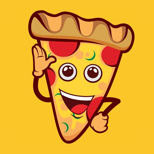 I Love Pizza Emoji iMessenger Sticker App
