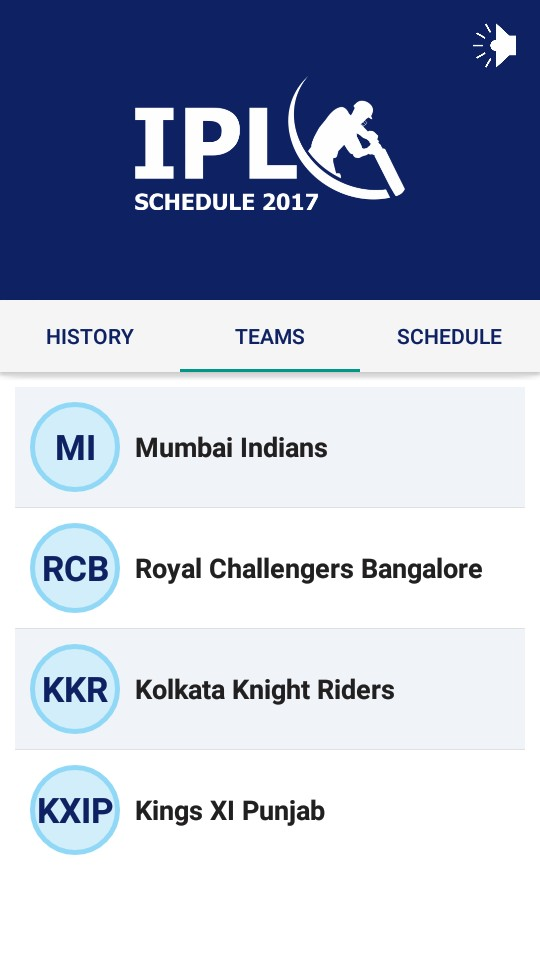 IPL Schedule 2017