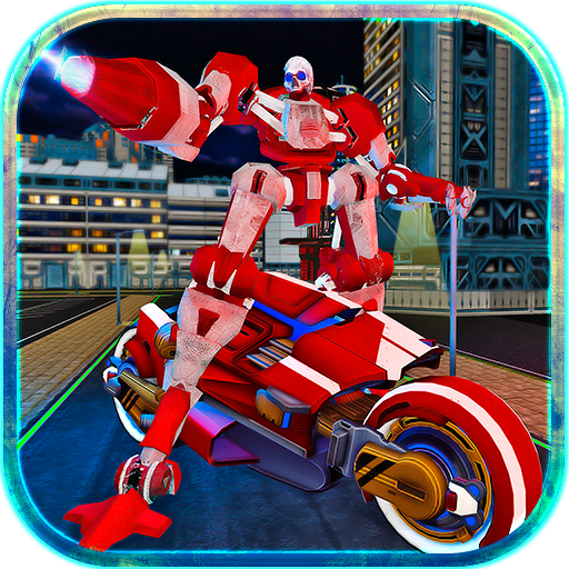 Moto Robot Transformer Hero