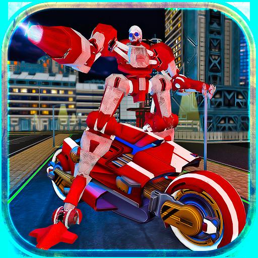 Moto Robot Transformer Hero