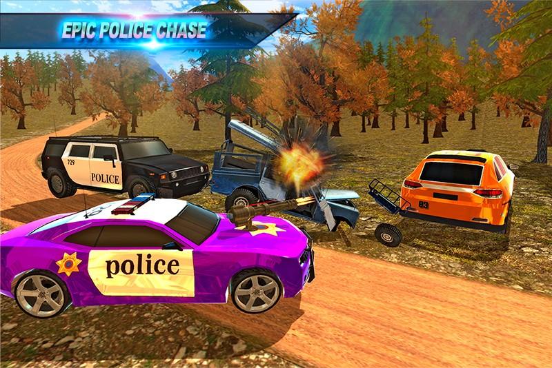 SA Police Criminal Chase