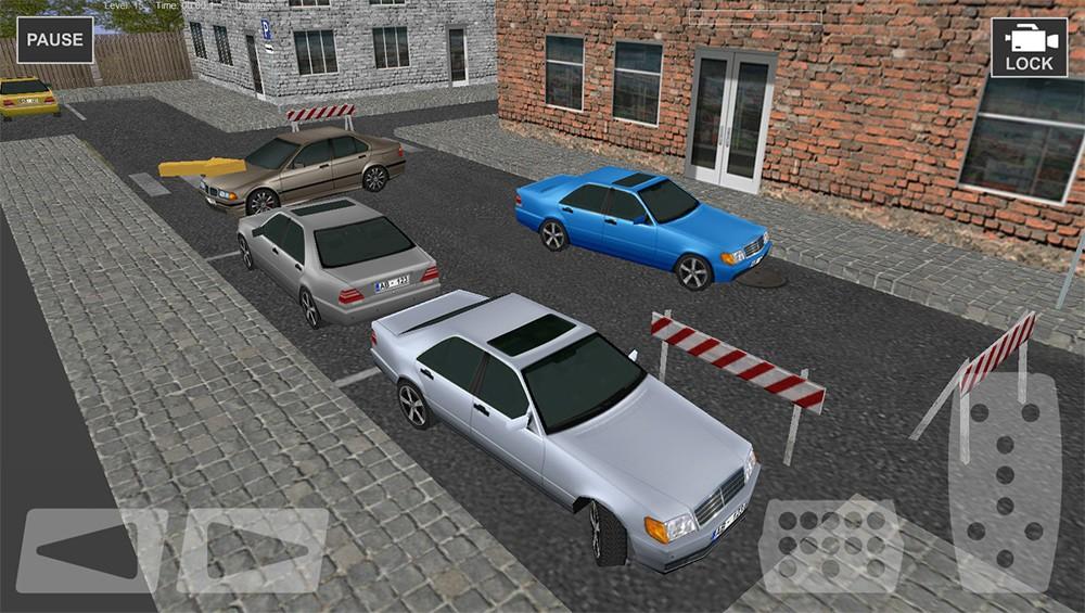 Town Driver Car Parking 3D