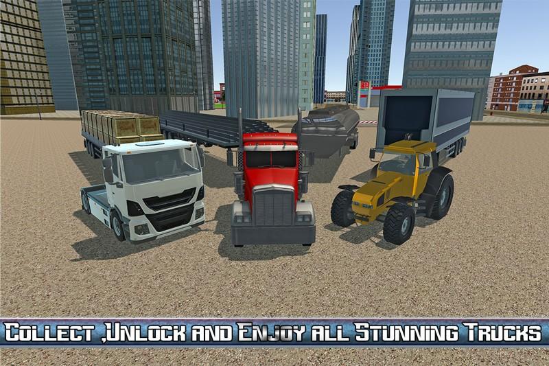 Transport Truck USA Driver SIM