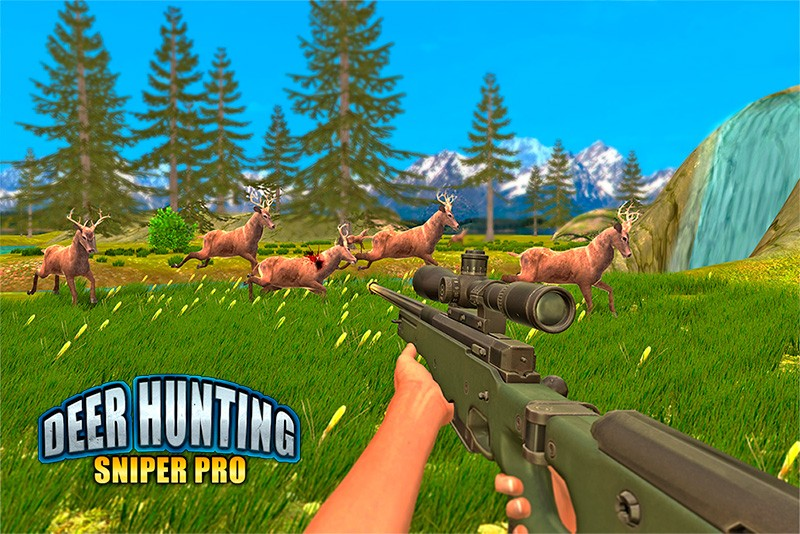 Wild Deer Hunt Jungle Sniper