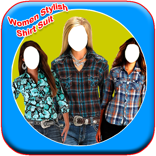 Women Stylish Shirt Photo Suit