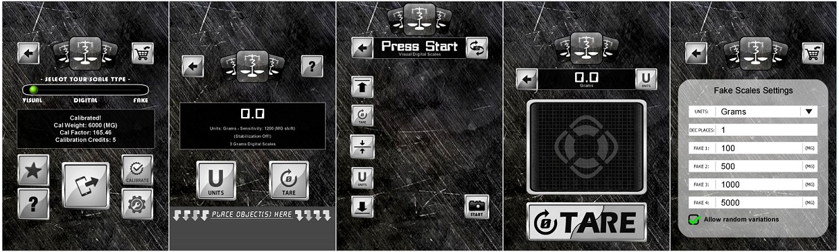 3 Grams Digital Scales App