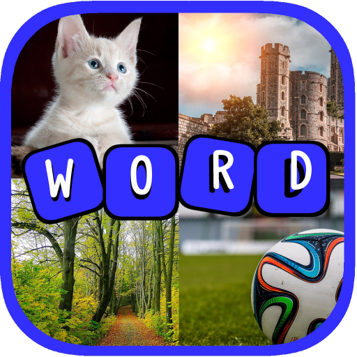 4 Pics 1 Word Games - Vocabulary Builder Bubbles