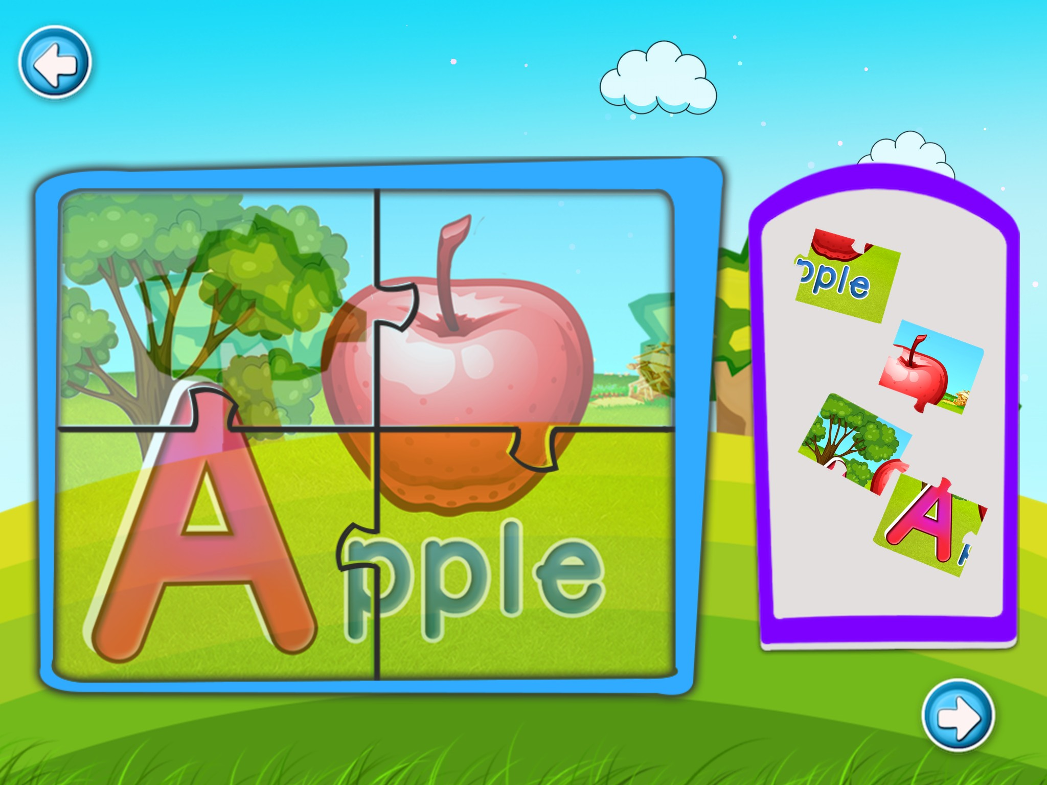 ABC Puzzle And Flash Card
