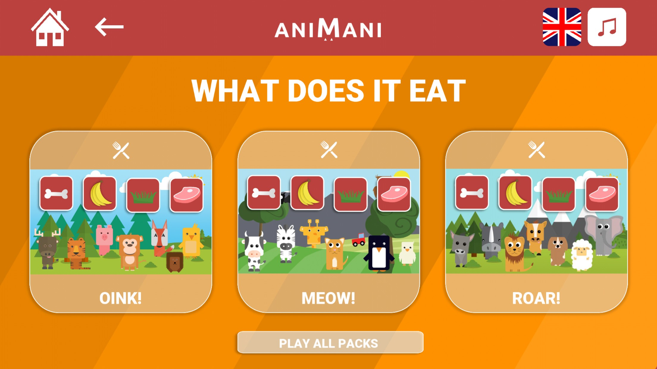 Animani - Learn about animals!