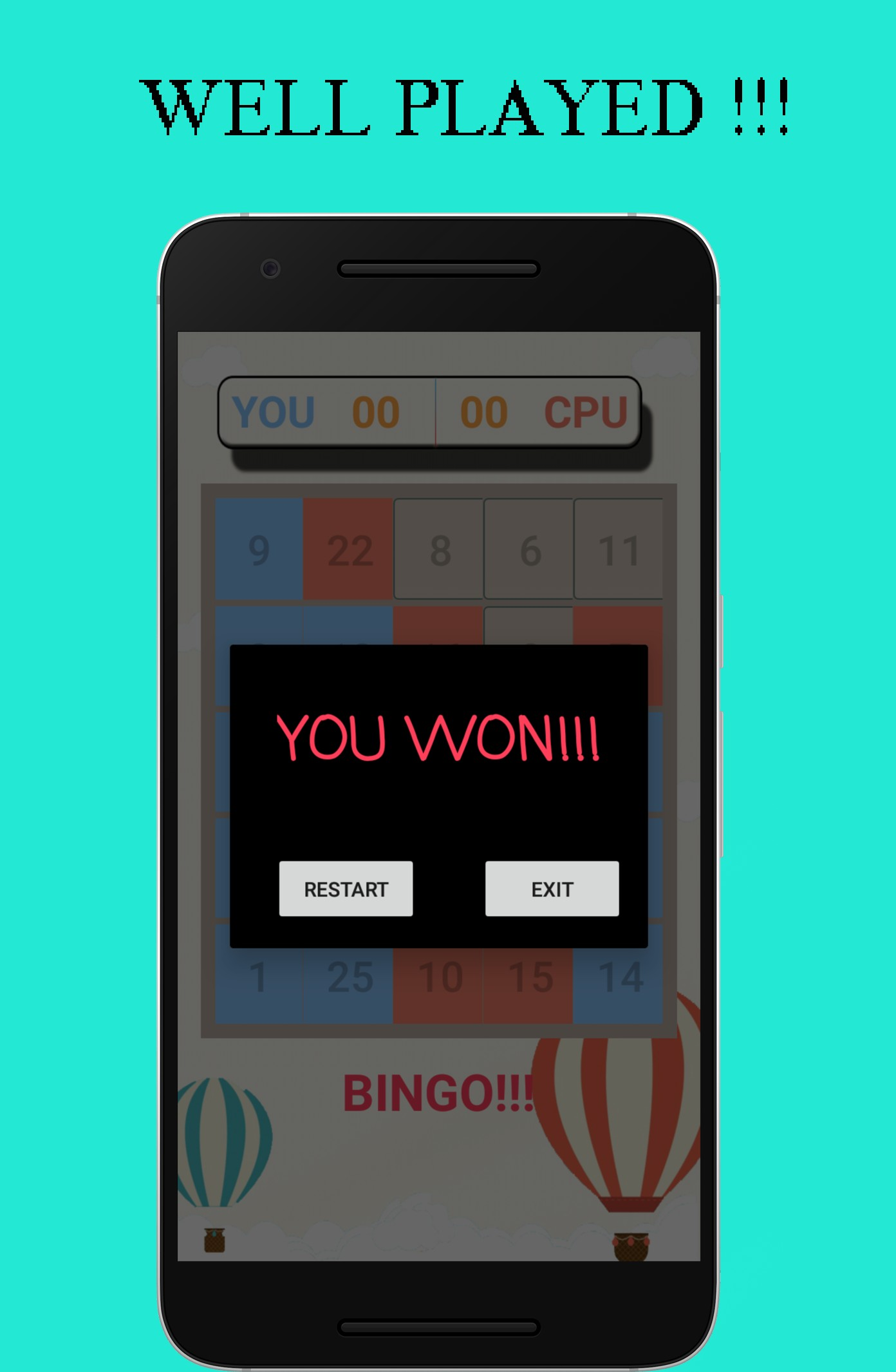 Bingo Crunch- Multiplayer  Game