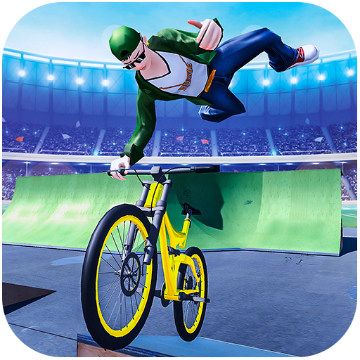BMX Bicycle Stunt Rider