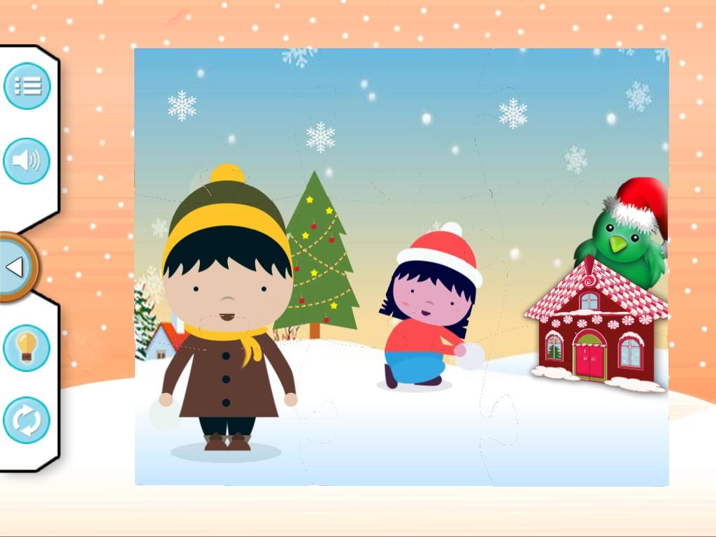 Christmas Jigsaw For Kids