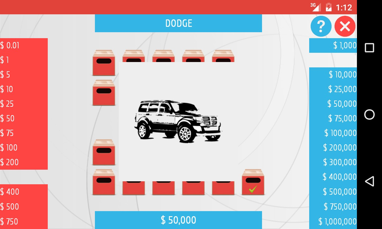 Deal or Risk - Cars Edition