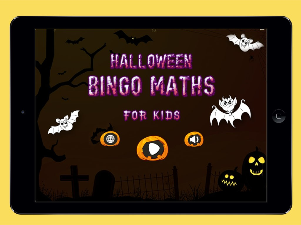 Halloween Bingo Maths For Kids