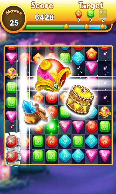 Jewels Temple: Match 3