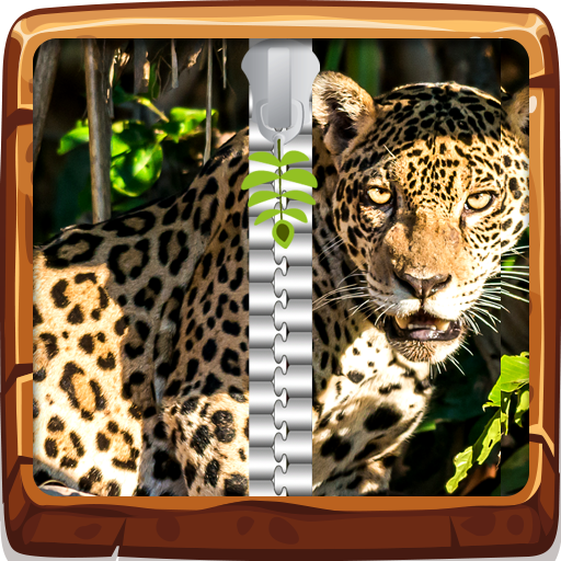 Jungle Animals Zipper UnLock