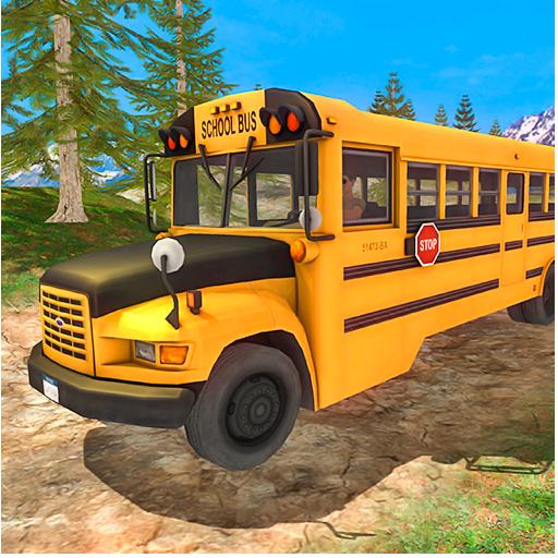 Kids School Bus Driver: SF