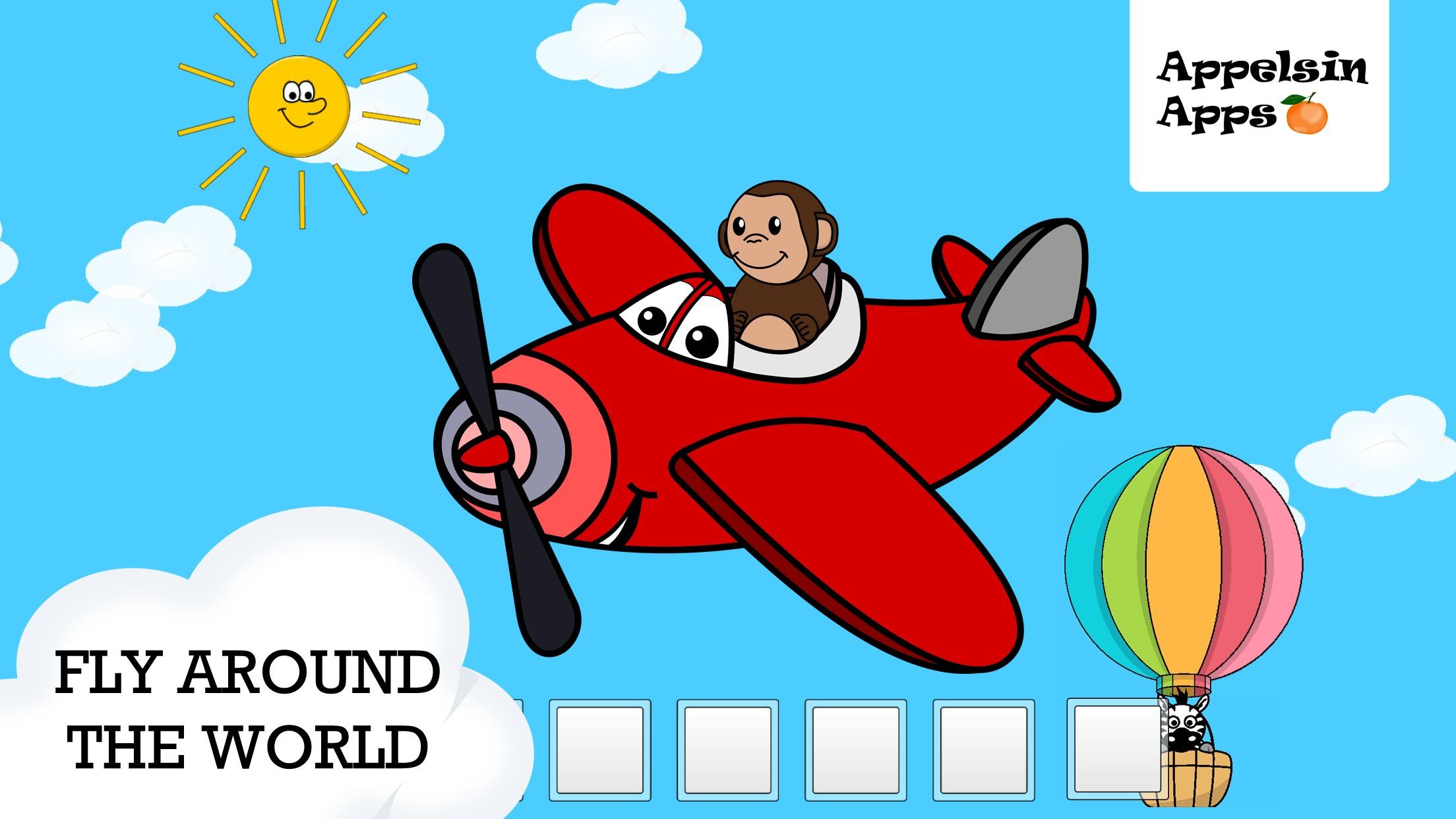 Monkey Moe World Traveler