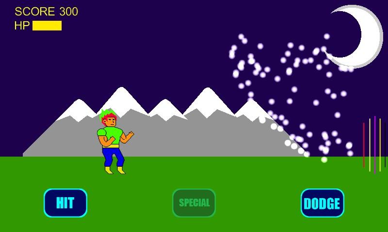 Rainbow Meteor