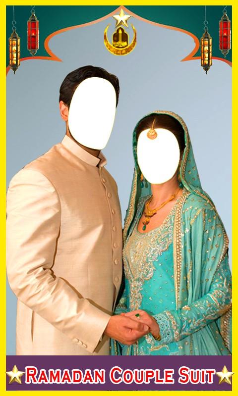 Ramadan Couple Photo Suit