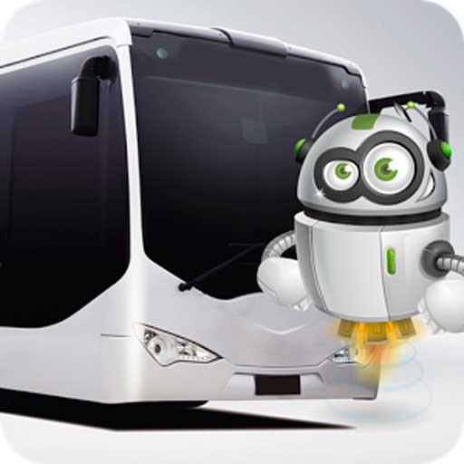 Robot Passengers City Bus