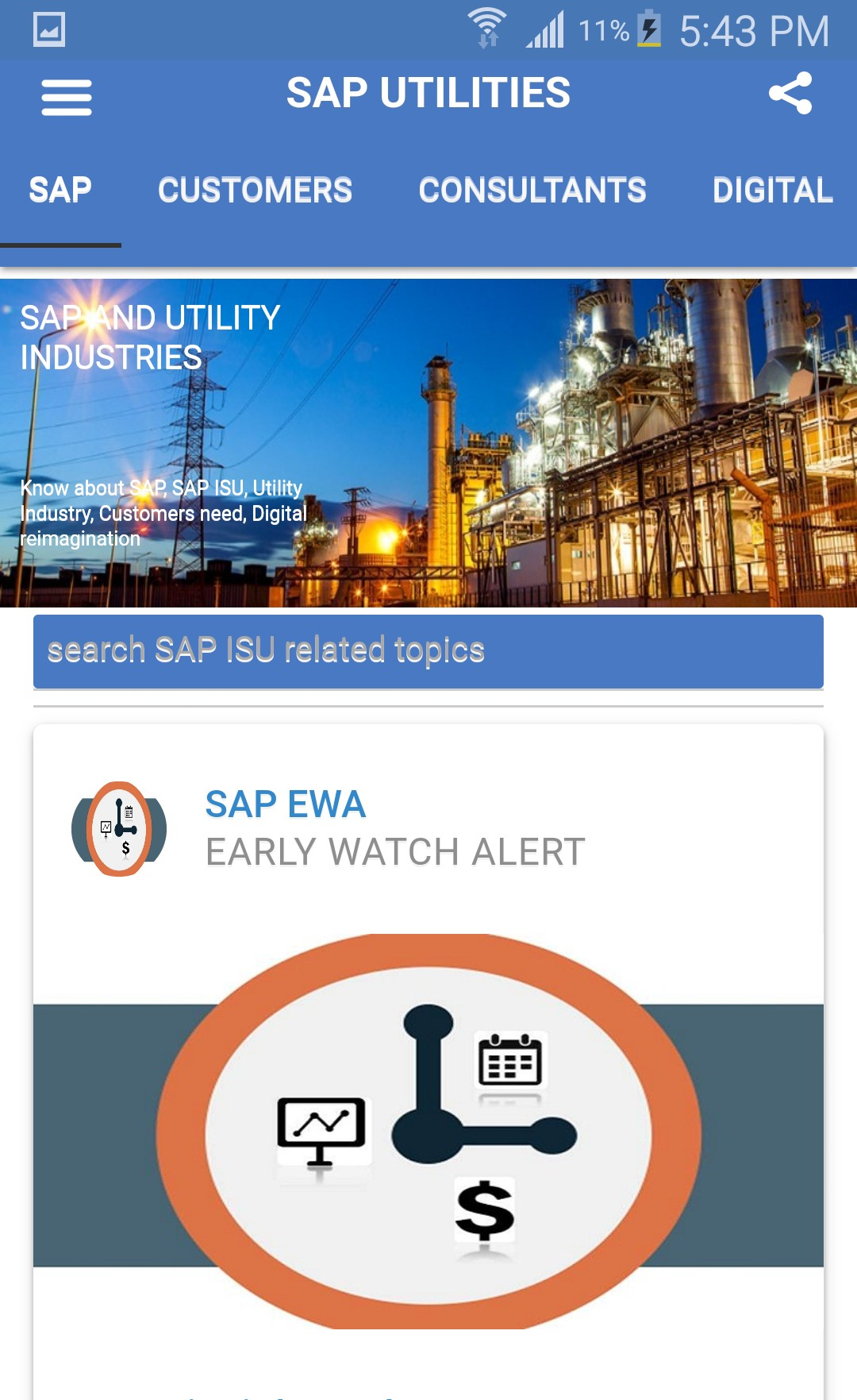 SAP Utility Digital