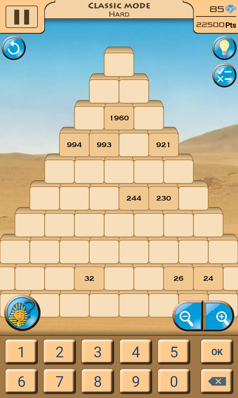 Sapphire Pyramid