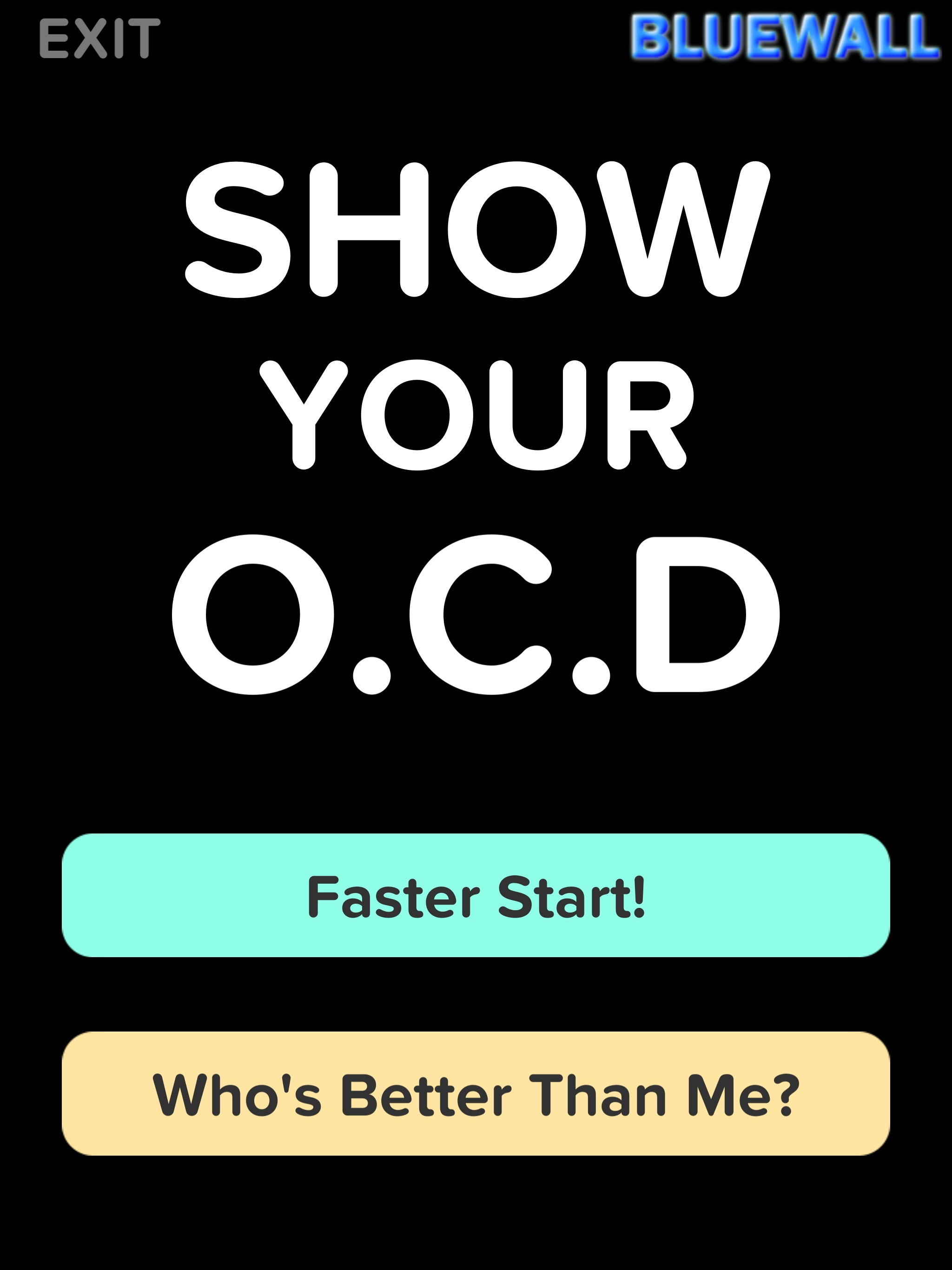 Show Your OCD