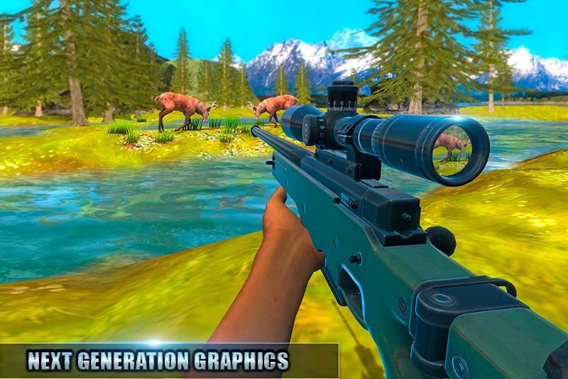 Sniper Hunter Jungle Survival