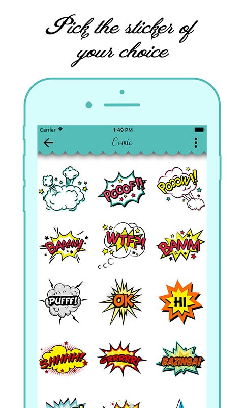 Stickers for Chat Messengers
