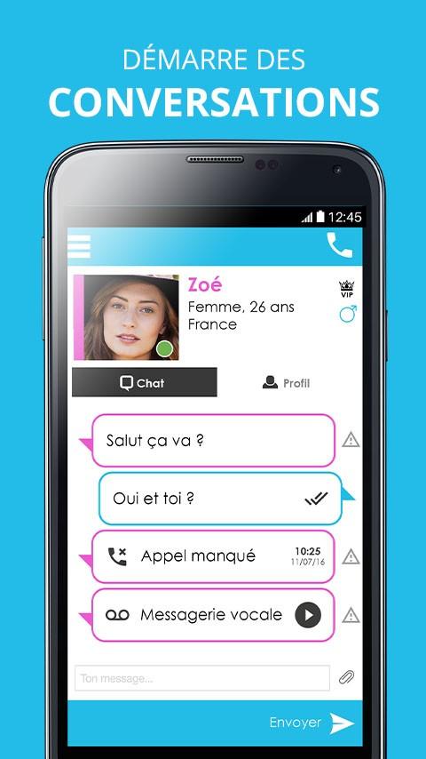 VivaChat: rencontres gratuites