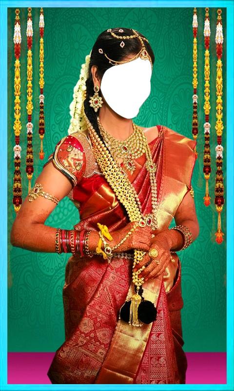 Women Bridal Saree Suit Hd