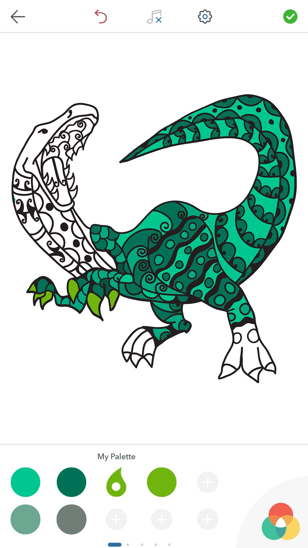 Dinosaur online coloring game - a-k-b.info