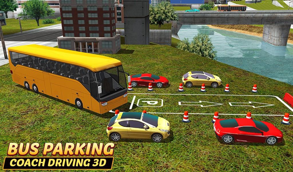 Bus Parking-Driving School 3D