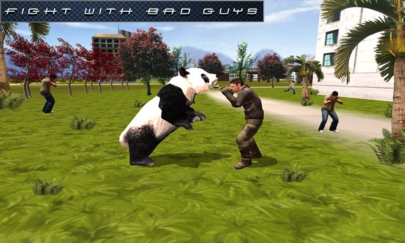 Flying Superhero Panda Sim
