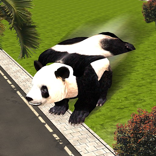 Flying Superhero Panda Sim
