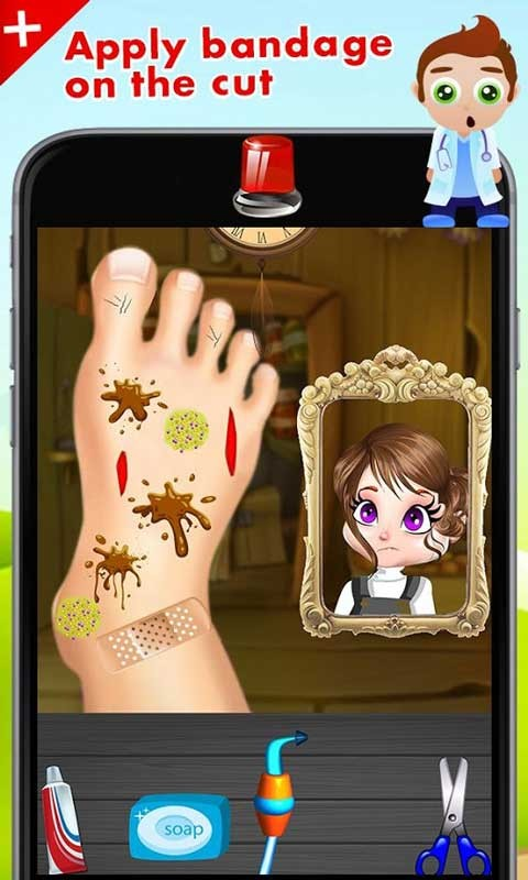 Foot Doctor Surgery Simulator