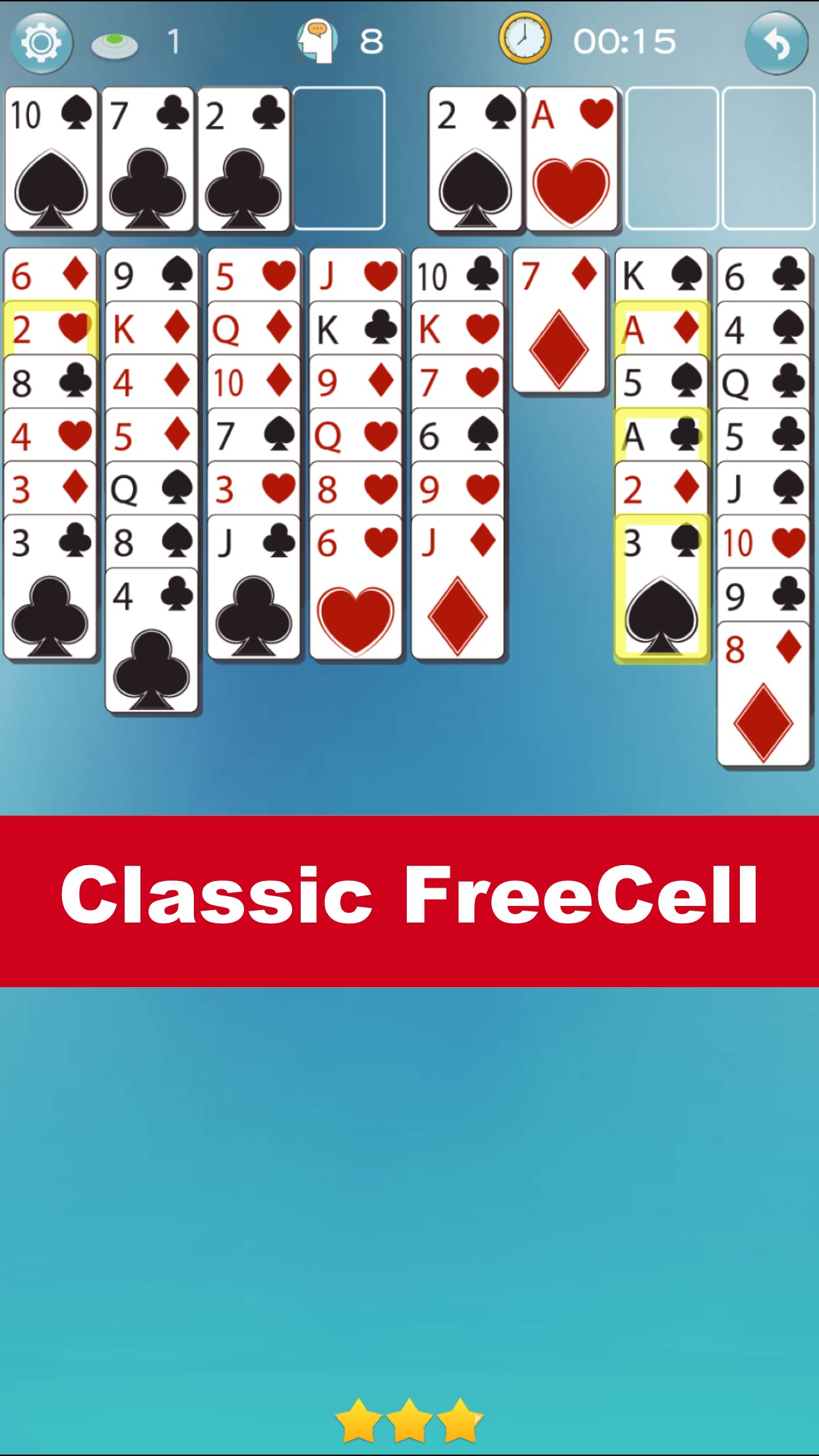 FreeCell Go - Self training and become master