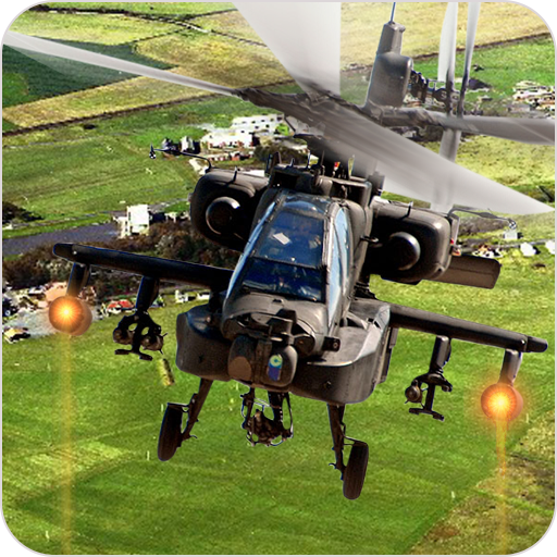 Heavy Gunship Helicopter War