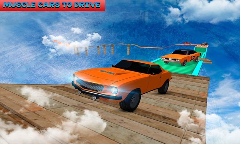 Muscle Car Impossible Tracks