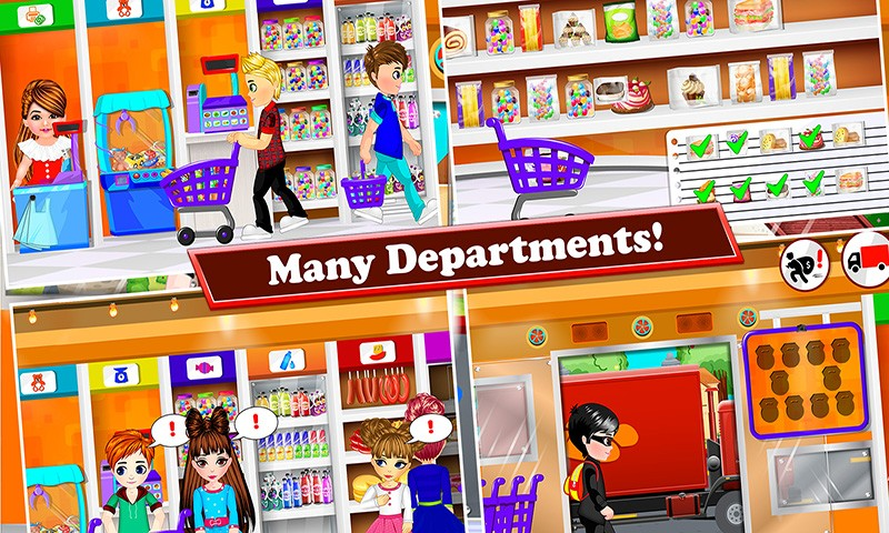 My Supermarket Kids Fun