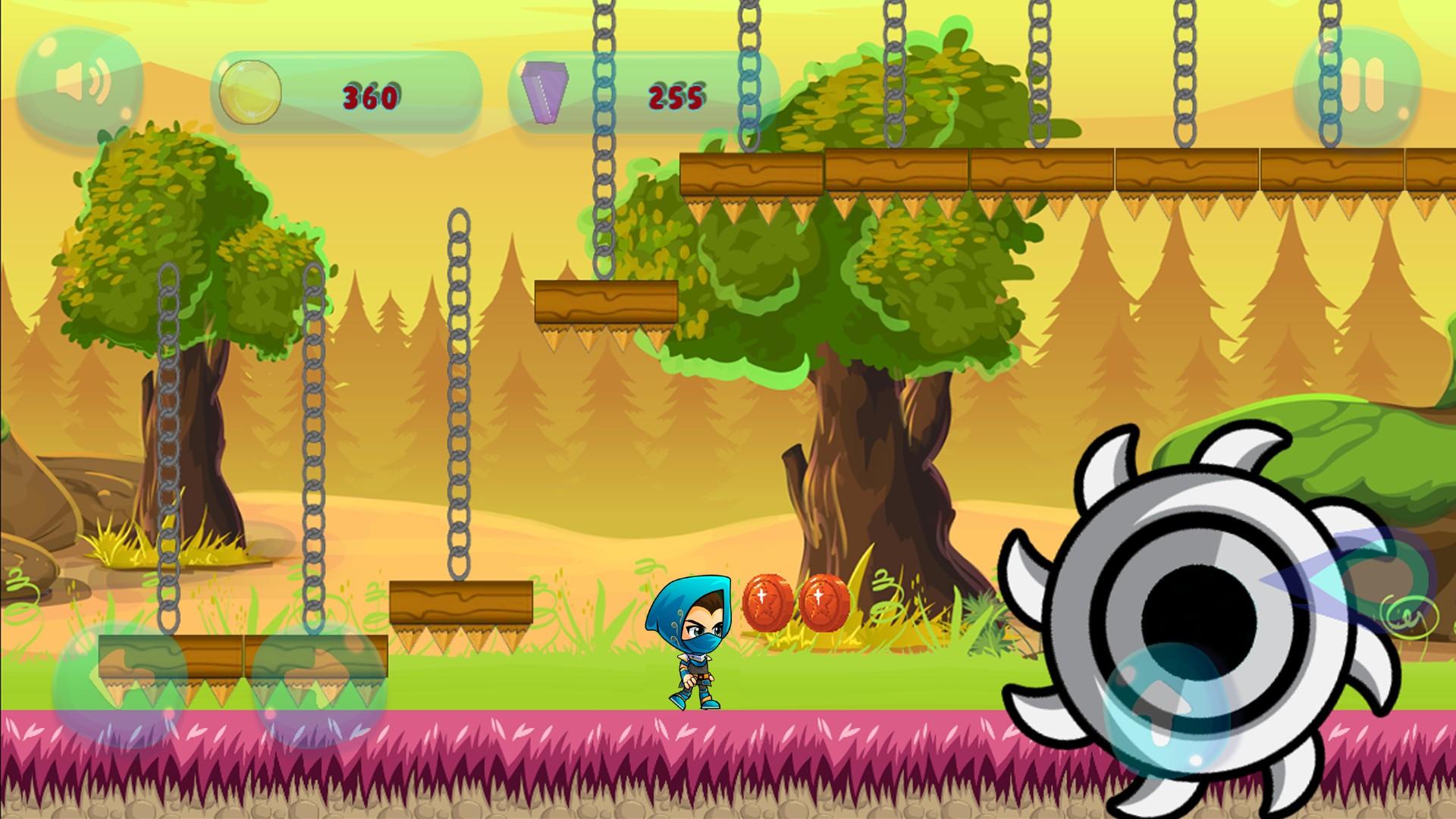 Ninja Jungle Hero